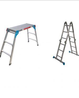 Plataformas y escaleras